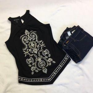 Inc international concept blouse